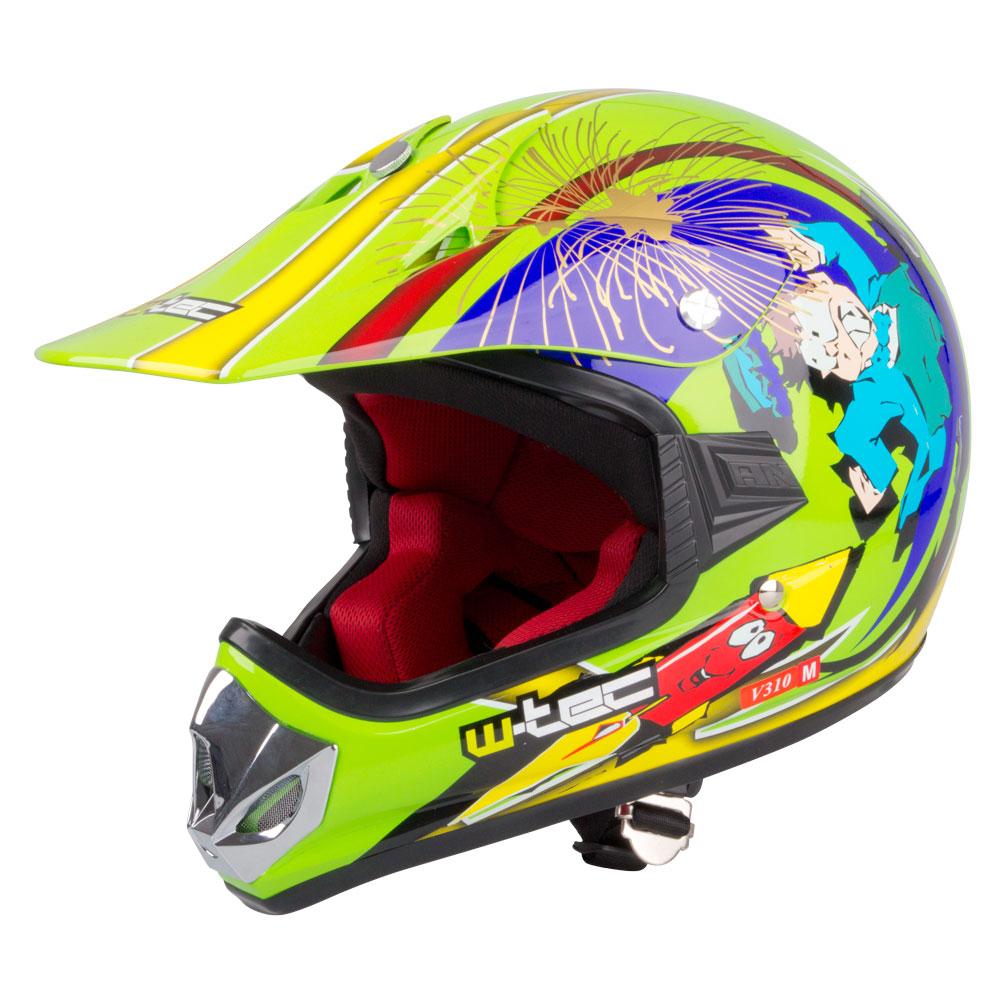 Dětské moto přilby