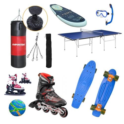 Sportovní potřeby a vybavení