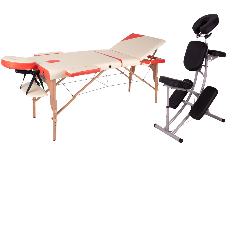 Masážní lehátka a židle