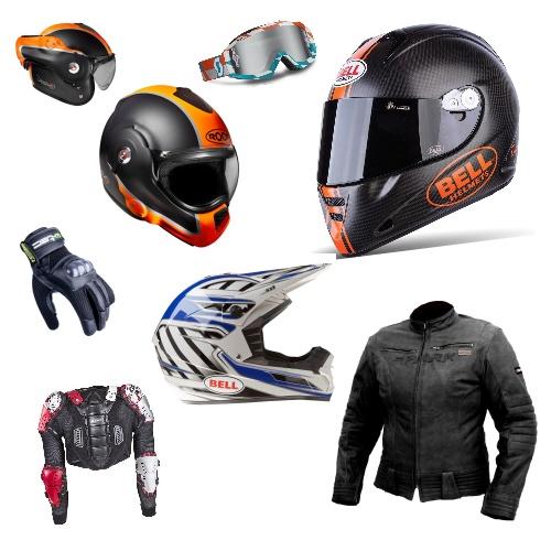 Motorkářské potřeby a vybavení