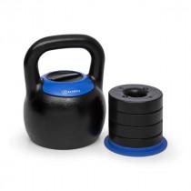Nastavitelný kettlebell KLARFIT Adjustabell 16/18/20/22/24 kg