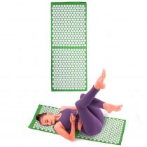 Masážní podložka inSPORTline AKU-1000 125 x 50 cm, zelená