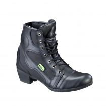 Dámské kožené moto boty W-TEC Jartalia NF-6092, černá, 36