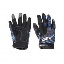 Moto rukavice W-TEC Heralt NF-5301 (Barva modrá, Velikost S)