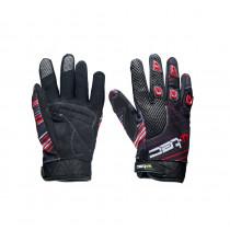 Moto rukavice W-TEC Heralt NF-5301, červená, S