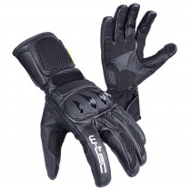 Moto rukavice W-TEC Talhof, černá, S