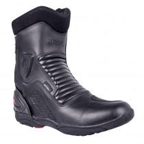 Kožené moto boty W-TEC Benkoff NF-6052, černá, 39