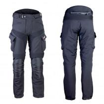 Pánské softshellové moto kalhoty W-TEC Erkalis GS-1729 (Barva černá, Velikost M)