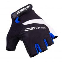 Cyklo rukavice W-TEC Jaynee, černo-modrá, S