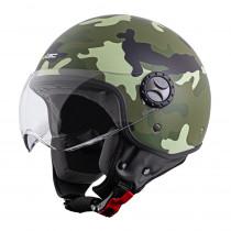 Helma na skútr W-TEC FS-701C Camo, camo, XS (53-54)