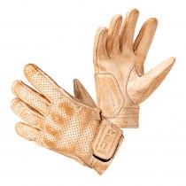 Moto rukavice W-TEC Modko, béžovo-černá, S