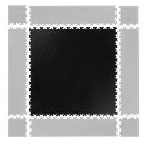 Puzzle zátěžová podložka inSPORTline Simple černá