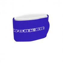 Upínací pásky na běžky WORKER, modrá