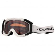 Lyžařské brýle WORKER Simon, bílá