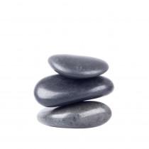 Lávové kameny inSPORTline River Stone 4-6 cm - 3 ks