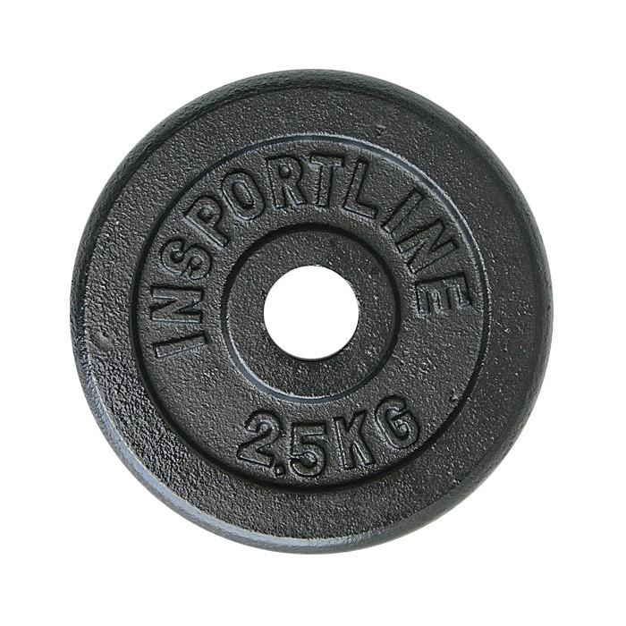Litinový kotouč inSPORTline Castblack 2,5 kg
