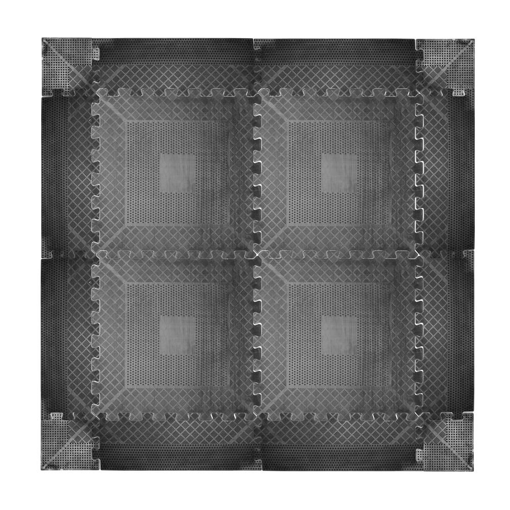 Puzzle zátěžová podložka inSPORTline Rubber 1,2 cm