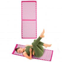 Masážní podložka inSPORTline AKU-1000 125 x 50 cm, růžová