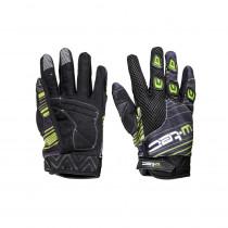 Moto rukavice W-TEC Heralt NF-5301, zelená, S