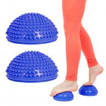 Balanční a masážní podložka na chodidla inSPORTline Uossia, modrá