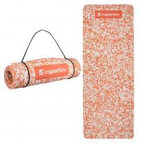 Podložka na cvičení inSPORTline Camu 173x61x0,8 cm (Barva oranžový maskáč)
