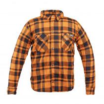 Moto košile W-TEC Terchis, oranžová, S