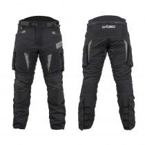 Moto kalhoty W-TEC Aircross, černo-šedá, S