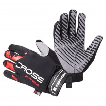 Fitness rukavice inSPORTline Freso, černo-červená, S