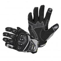 Moto rukavice W-TEC Upgear, černo-šedá, S