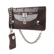 Peněženka Black Heart Rahakot Brown, hnědá