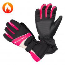 Univerzální vyhřívané rukavice W-TEC Boubin, červená, M