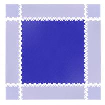 Puzzle zátěžová podložka inSPORTline Simple modrá