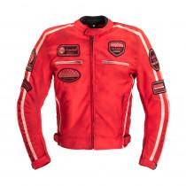 Pánská textilní bunda W-TEC Patriot Red, červená, S