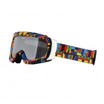 Lyžařské brýle WORKER Cooper s grafikou, barevná grafika