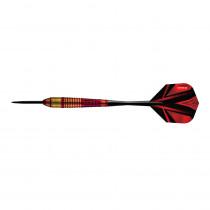 Šipky Harrows Vivid Steel 3ks, Red, Označení 22g R