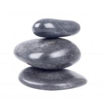 Lávové kameny inSPORTline River Stone 6-8 cm - 3ks