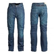 Pánské jeansové moto kalhoty ROLEFF Aramid, modrá, 30/S