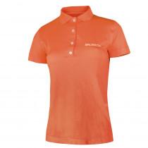 Dámské thermo tričko Brubeck PRESTIGE s límečkem, oranžová, S