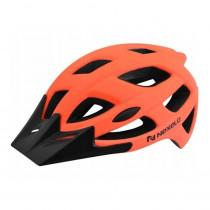Cyklo přilba Nexelo City, oranžovo-černá, M (55-58)